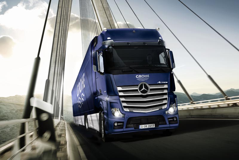 The Grohe XXL Truck Tour returns