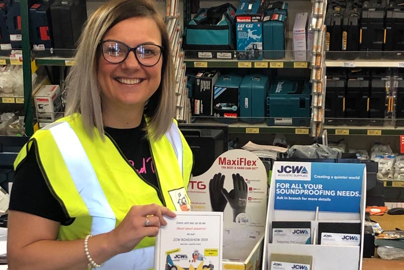 JCW Acoustic Supplies announces merchant Roadshow
