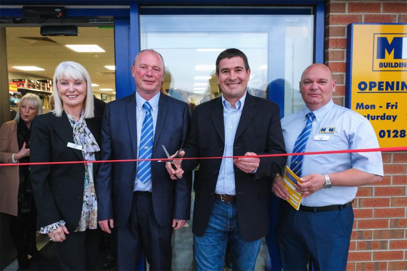Nigel Clough opens MKM's Burton branch