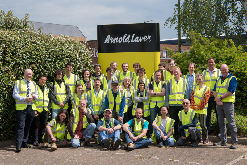 TTF teams up with Arnold Laver