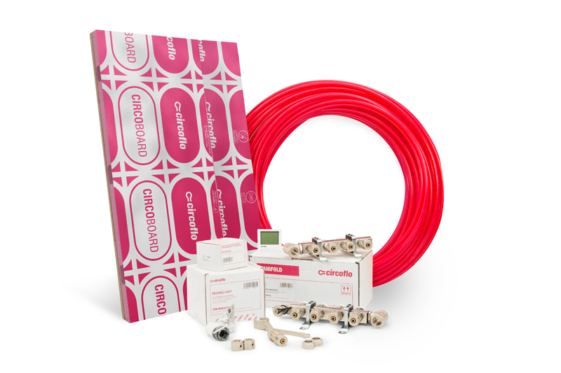 CircofloPro launches underfloor heating system