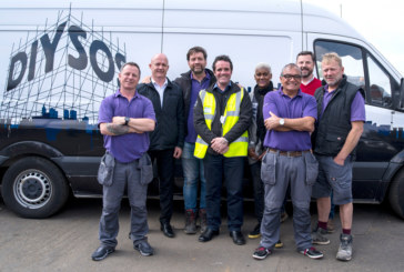 Howarth shows support for DIY SOS