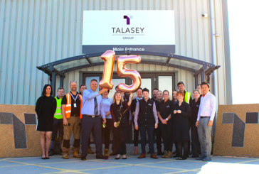 Talasey Group celebrates 15th anniversary