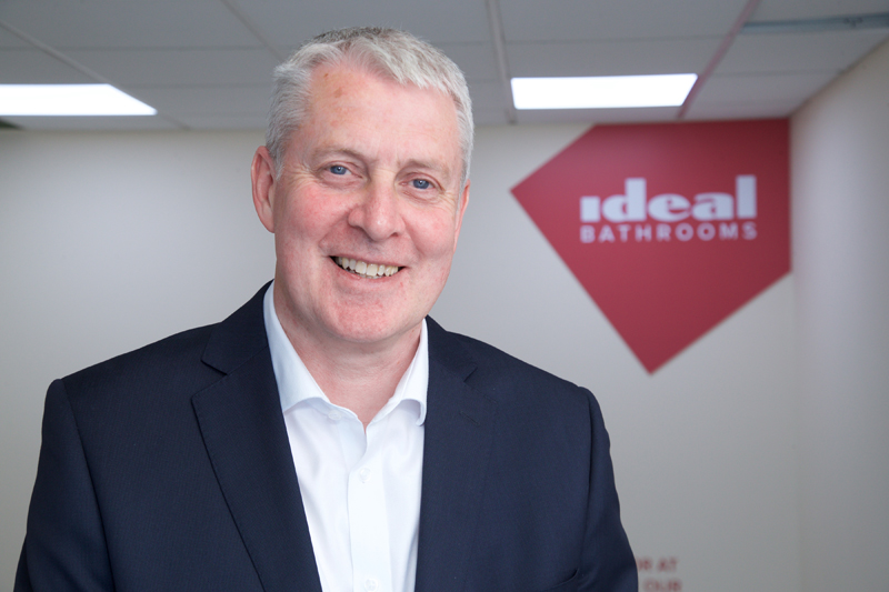Ideal Bathrooms appoints Managing Director