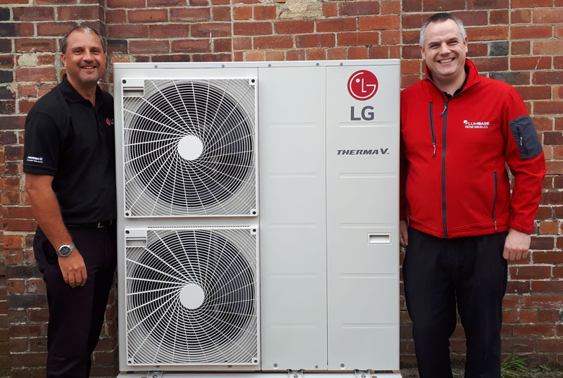 Plumbase to stock LG Therma V
