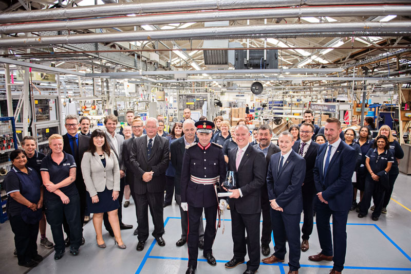 Mira celebrates second Queen's Award with VIP event