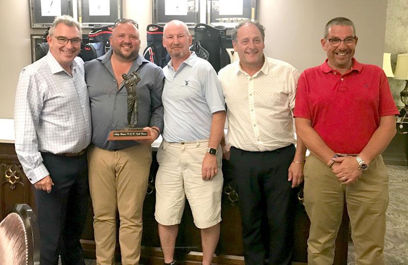 RGB golf day for ambulance trusts raised £3,900