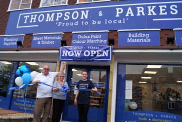 Thompson & Parkes open in Stourport
