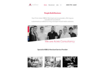 Acres Consultancy launches website