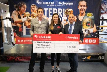 Plumbase and Polypipe sponsor boxer Terri Harper