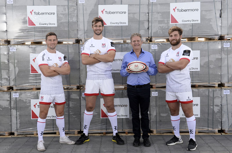 Tobermore sponsor Ulster Rugby