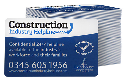 Construction Industry Helpline: call 0345 605 1956 for confidential 24/7 help and support