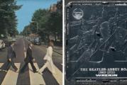 Wrekin unveils Abbey Road custom manhole cover