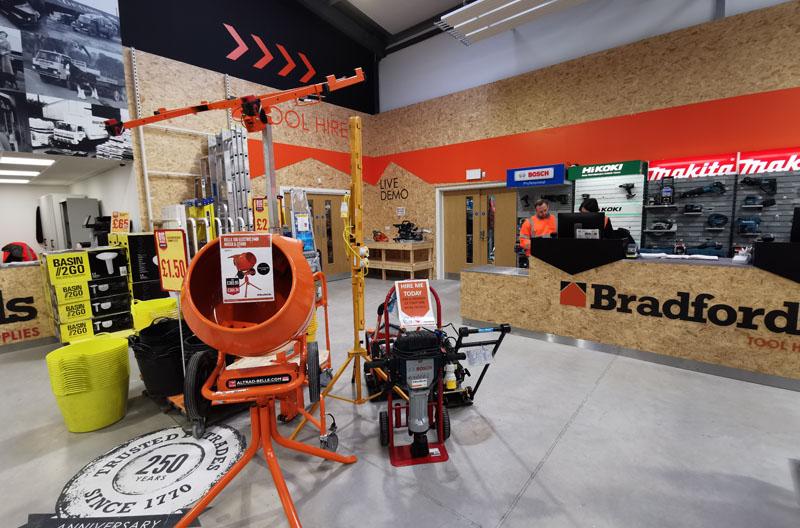 Bradfords uses SterlingOSB Zero