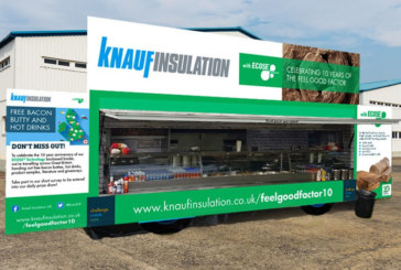 Knauf Insulation's bacon butty tour