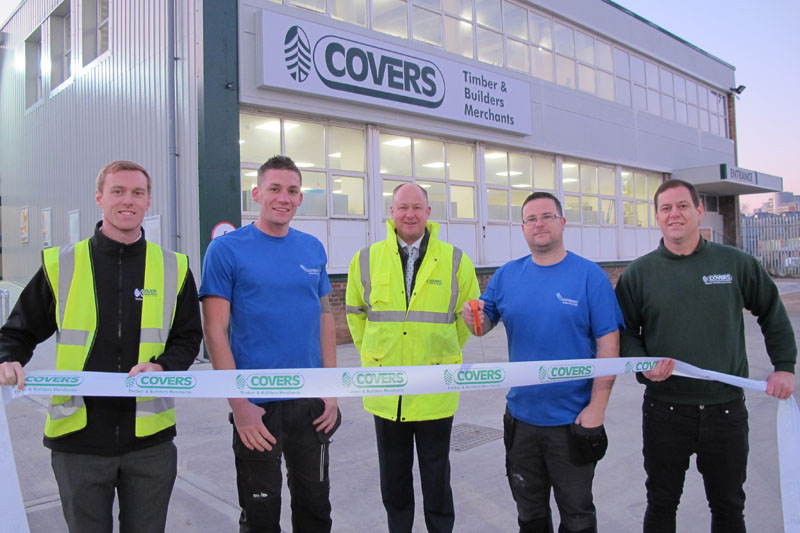 Covers opens new Southampton depot