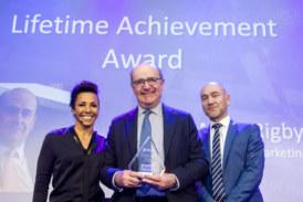 Founder of MRA Marketing honoured at Builders' Merchants Awards