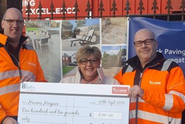Brett Landscaping gives a charity birthday bonus
