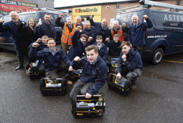 Bradfords provides £7000 of tools to apprentices