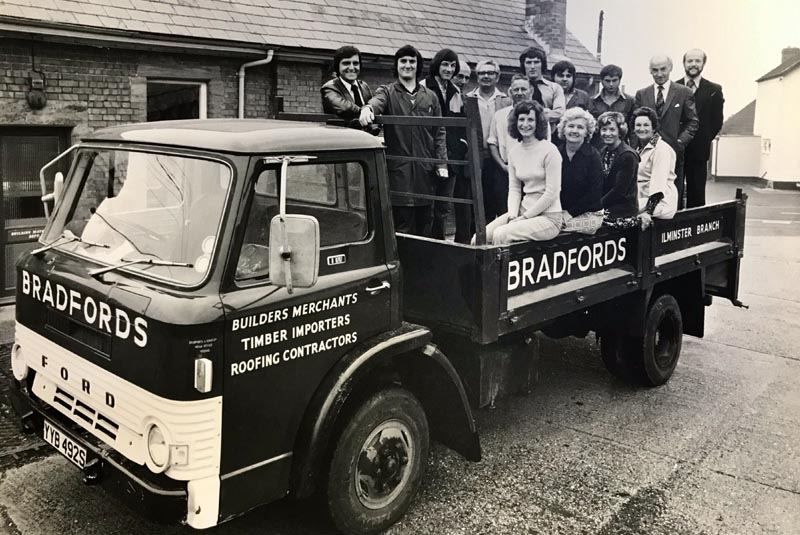 Bradfords Building Supplies celebrates its 250th anniversary in 2020