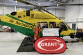 Grant UK donates £10,000 to Wiltshire Air Ambulance