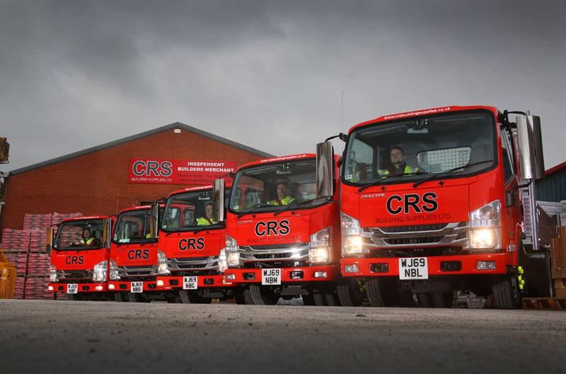 CRS Building Supplies chooses Isuzu