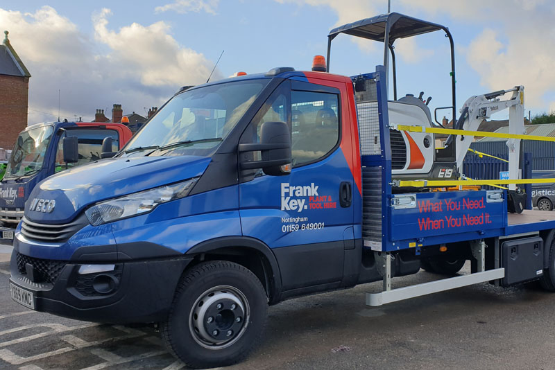 Frank Key delivers with Iveco