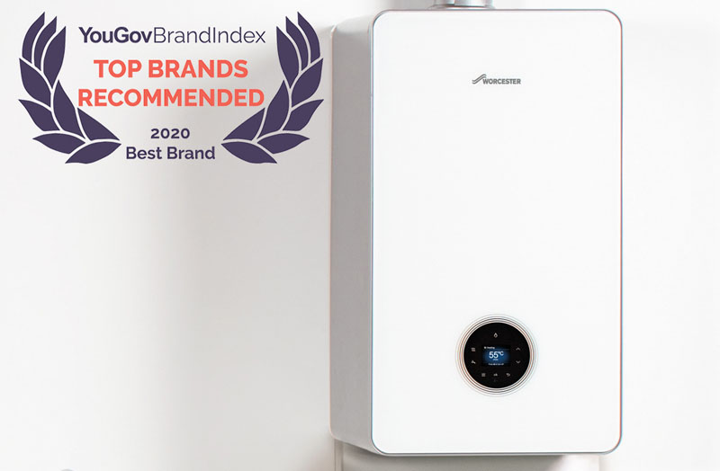 Worcester Bosch in YouGov's Top 10 Domestic Appliance Brands