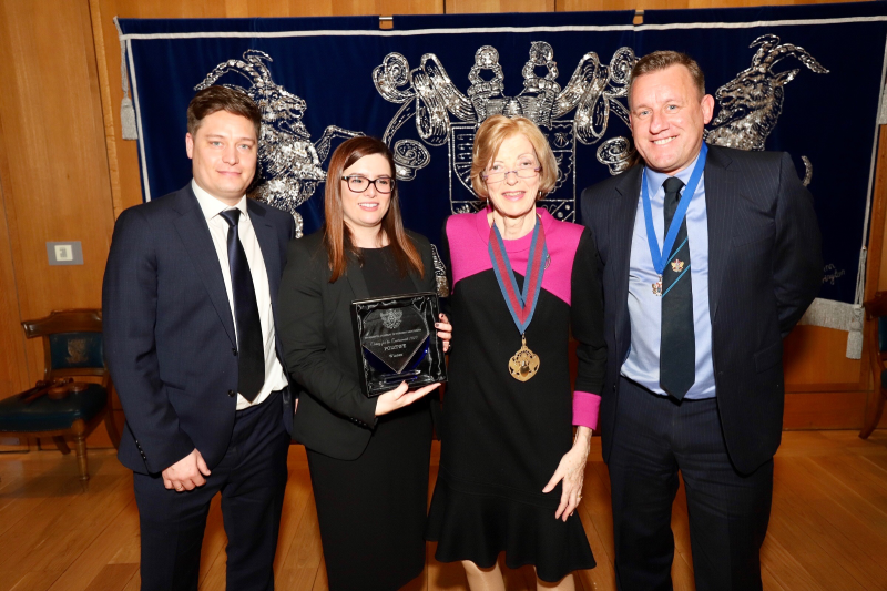 Polypipe Civils & Green Urbanisation and Lakes have the won the Caring for the Environment Award in the annual City & Awards Luncheon, hosted by the WCoBM.