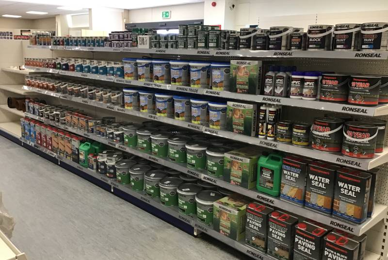 Stock optimisation with Ronseal Trade
