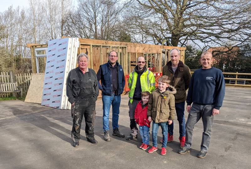 Thompson & Parkes donates to local school project