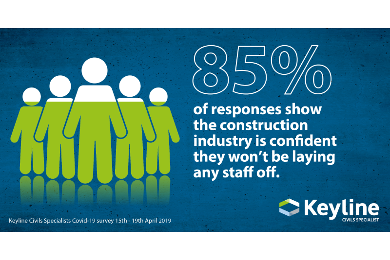 Keyline Civils Specialist finds optimism in the construction sector