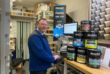 The Paint Pot Colour Centre discusses support from Bradite