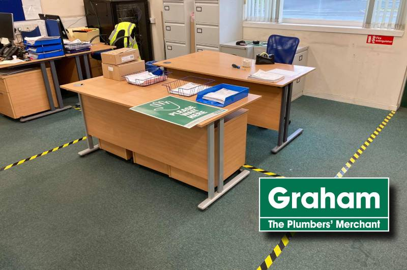 Graham Plumbers' Merchant is working to 'Trade Safer'