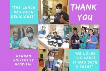 WCoBM supports NHS Livery Kitchen initiative during pandemic
