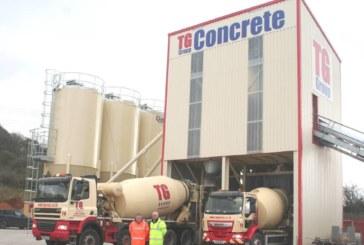 TG Concrete Bridgnorth plant opens its doors