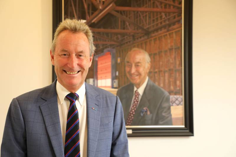 Neil Donaldson leaves James Donaldson & Sons after 45 years