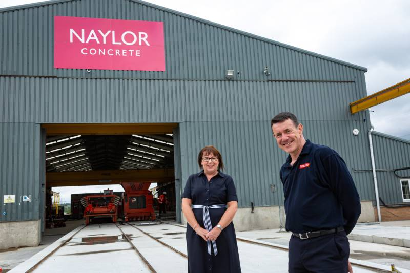 Naylor launches £2m concrete products factory