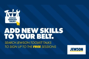 Jewson launches Toolkit Talks