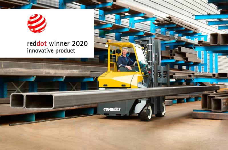 2nd Red Dot Design Award for Combilift