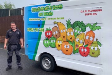 Mira installer delivers fresh produce during lockdown