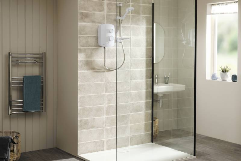 Silent shower pump technology from Triton