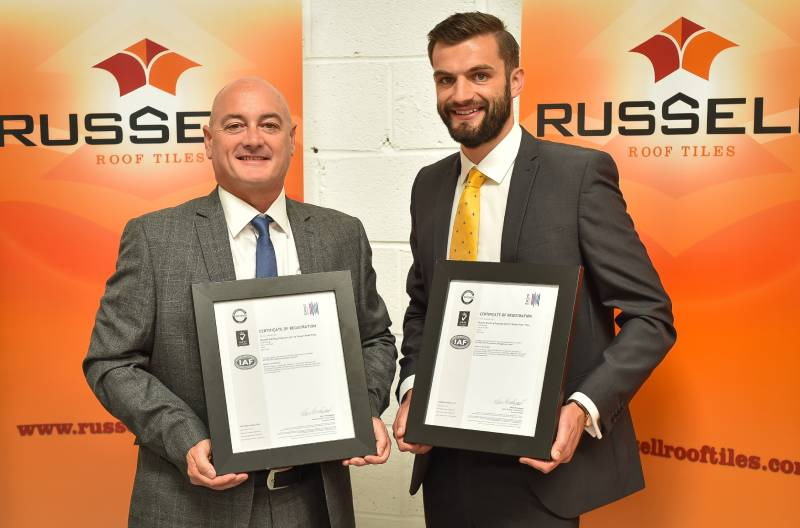 Russell Roof Tiles resumes investment in plant and equipment