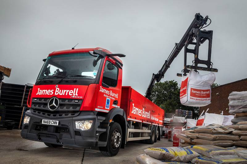 James Burrell builds towards FORS Silver with Mercedes-Benz Arocs