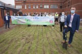 Rainbow Garden work starts, with support from Polypipe BP