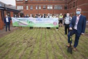 Rainbow Garden work starts, in part funded by Polypipe