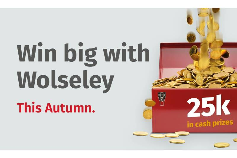 Wolseley is giving installers the chance to win a share of £25,000