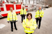 Minister announces 95 jobs and £30m investment by Tobermore