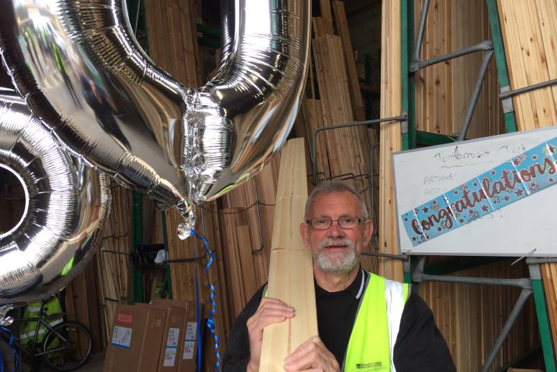 'Foggy' marks 50 years at Howarth Timber & Building Supplies