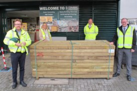 Mid Sussex MP visits Covers Timber and Builders' Merchants
